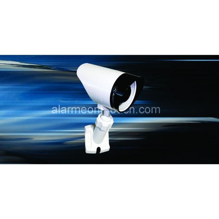 Camera sans fil alarm com v721w for Camera exterieur sans fil