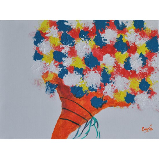 Cornet de fleurs