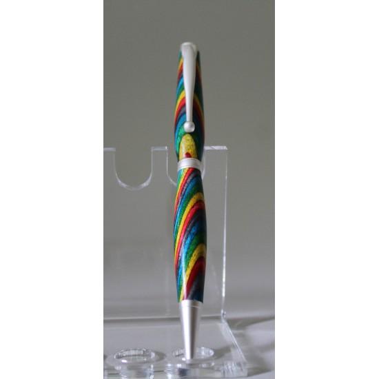 Slim stylo confetti chrome