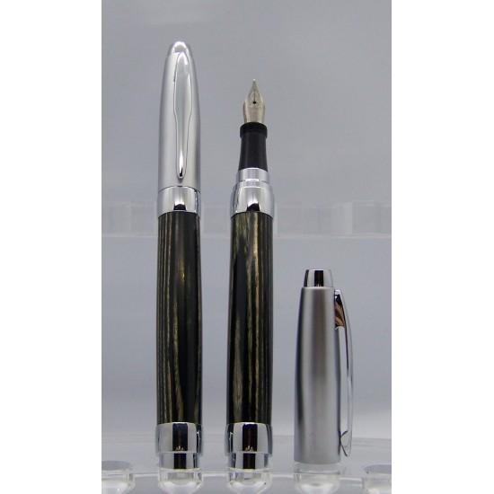Ensemble stylo et plume fontaine Pressimo frêne...