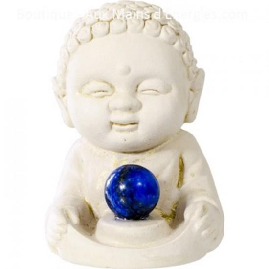 Bouddha gypse - Terre de guérison