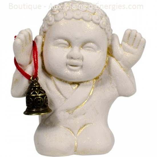 Gypse Bouddha - Cloche tibétaine