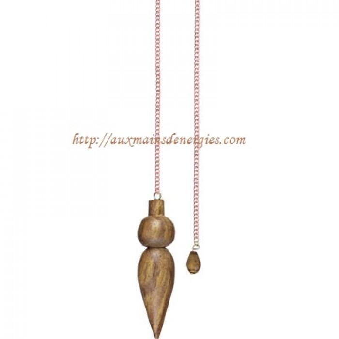 Pendule en bois de forme vari e for Grande pendule en bois