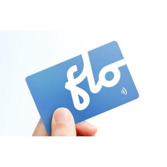 Cartes d'activation RFID pour borne  FLO
