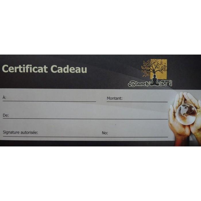 Certificat cadeau 50$