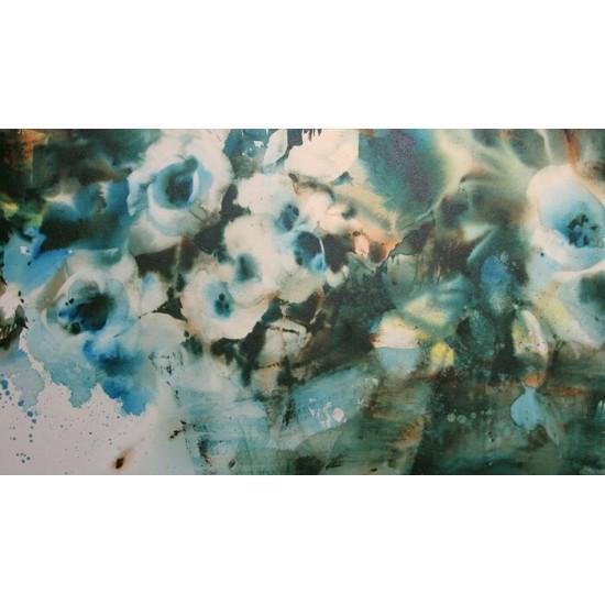 Foulard soie - Ces fleurs de la mer d84e906683a