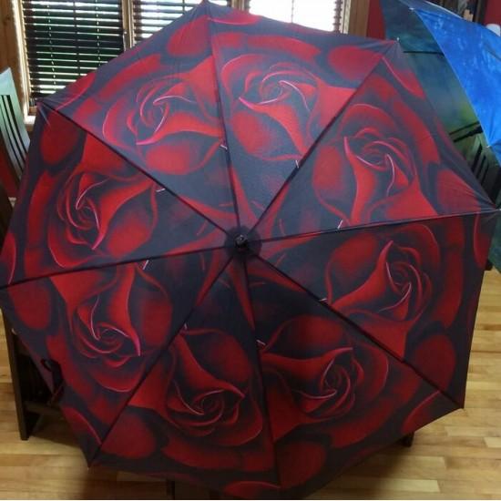 Parapluie - Rose de Velours