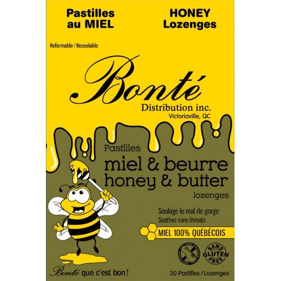 pastille au miel et Beurre
