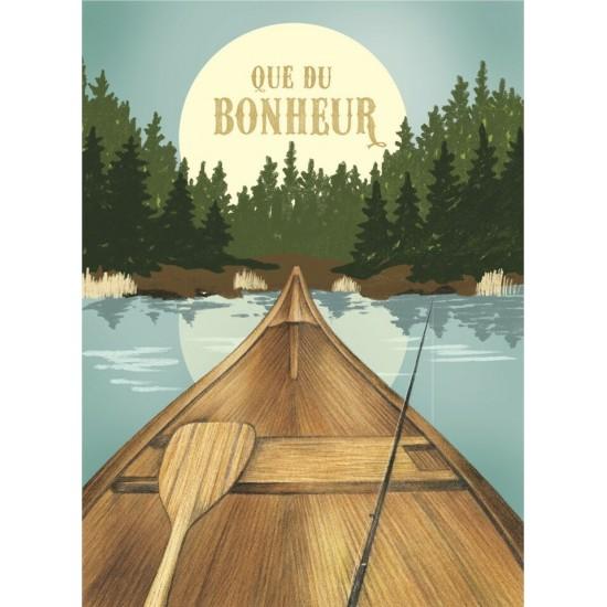 Bonheur en canot