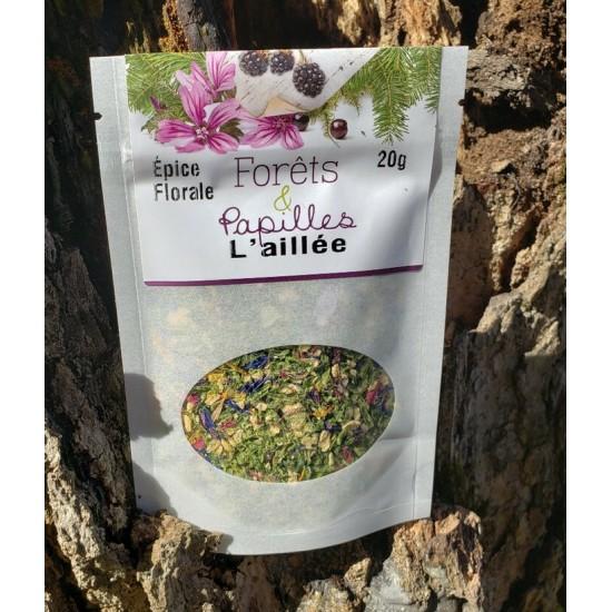 L'aillée - Épice à base de fleurs d'ail du...