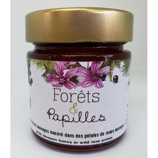 Miel à la rose sauvage du Kamouraka