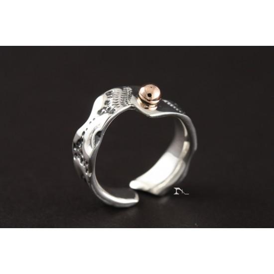 Bague EkhiOR- Perle d'or