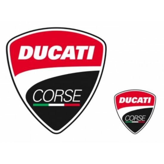Autocollants Logo Ducati Corse