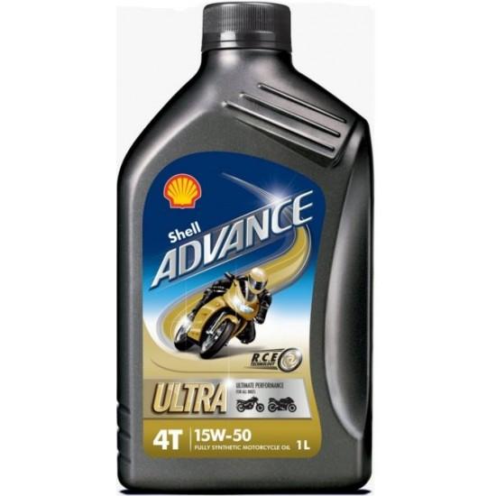 Huile moteur Shell Advance Ultra 15W50 1L