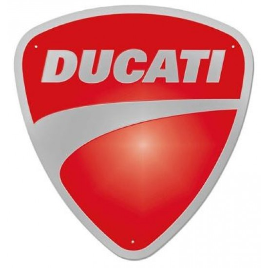 Enseigne en métal Ducati