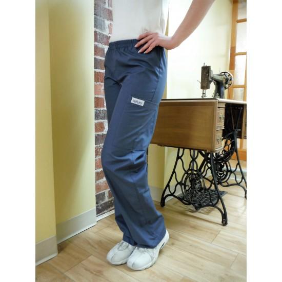 Pantalon taille élastique à poches style...