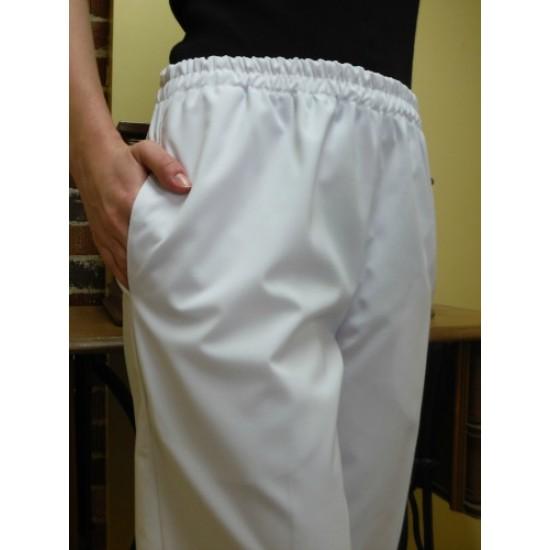 Pantalon taille élastique, poches...