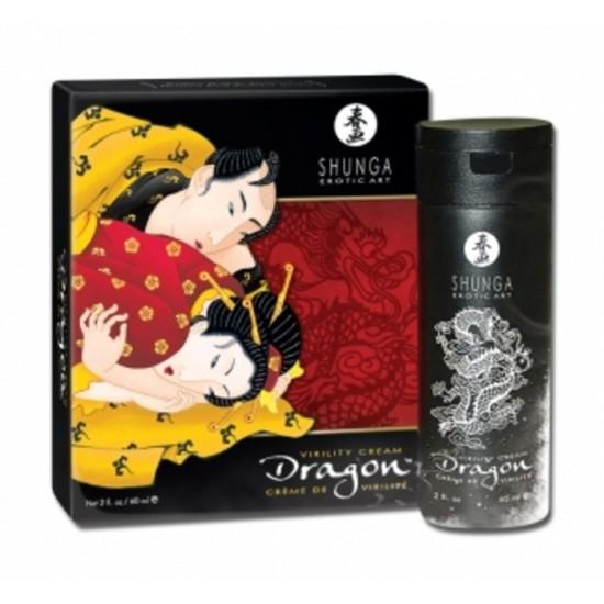 Shunga crème de virilité Dragon, boutique Adam...