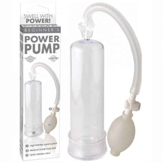 Pompe Beginner's Power Pump pour pénis