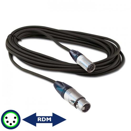 Câble Digiflex XLR 5 DMX 3'