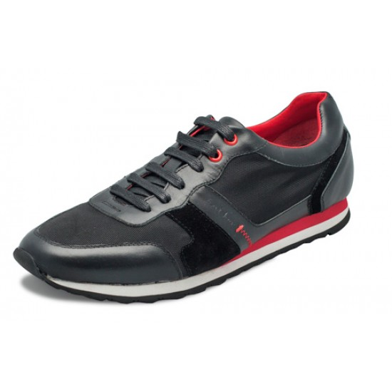 Souliers sneakers AU NOIR LUCAS black