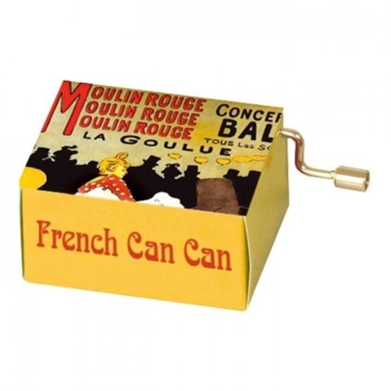 French Cancan Lautrec #139 Boîte à Musique à...