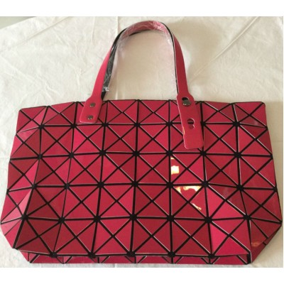 Sac aux motifs triangulaires rose