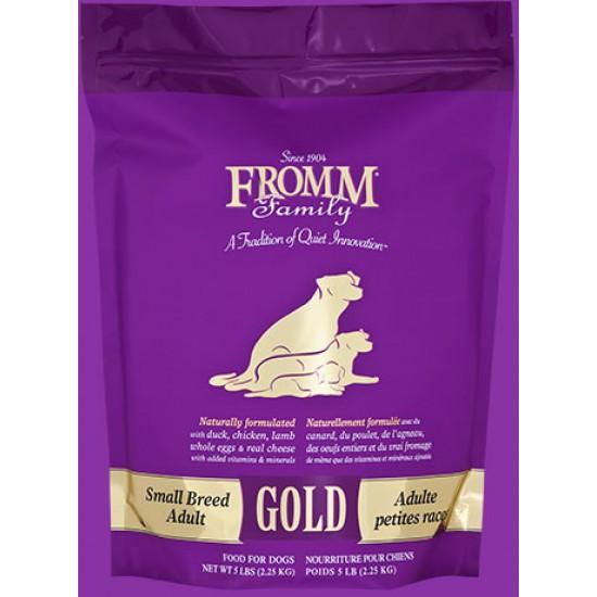 Fromm Gold Adultes petites races 5 lb