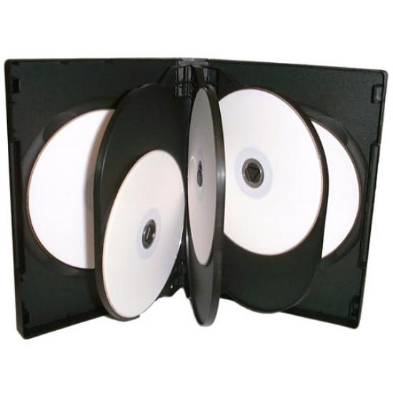 Boîtier CD/DVD 8X (Paquet de 5)