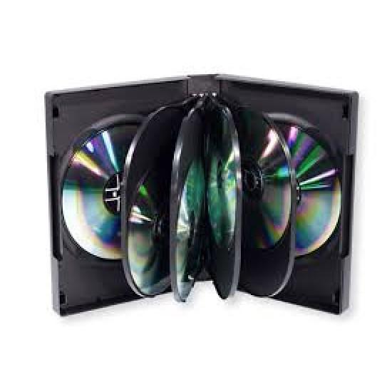 Boîtier CD/DVD 10X (Paquet de 10)