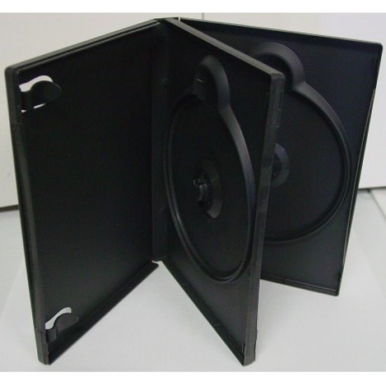 Boîtier CD/DVD 2X JUMBO (Paquet de 5)