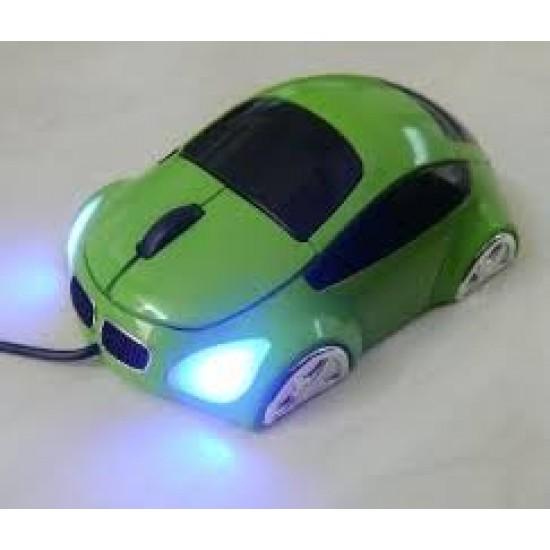 Souris M-Coupe Verte