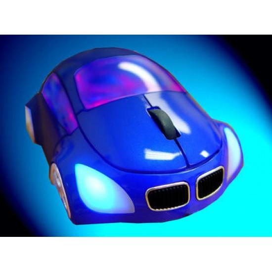 Souris M-Coupe Bleu