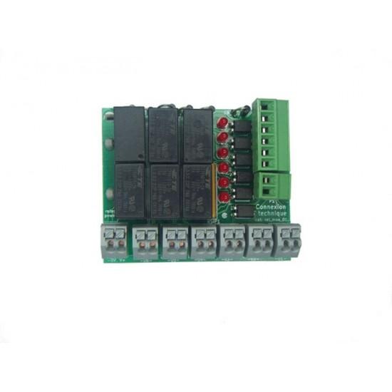 Carte relais (x6)