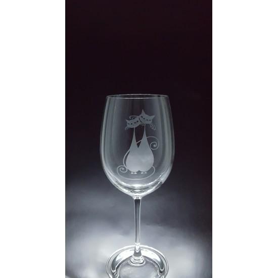 ANI-CK-Chats amoureux - 1 verre - prix basé sur...