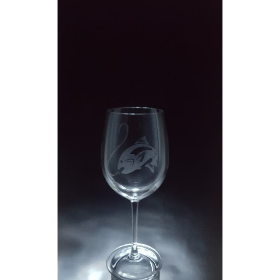 ANI-SM-poisson truite - 1 verre - Prix basé sur...