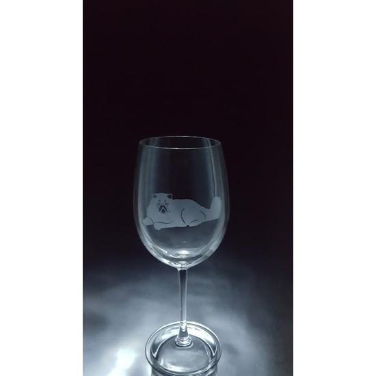 ANI-CK-Chat de race angora - 1 verre - prix basé...