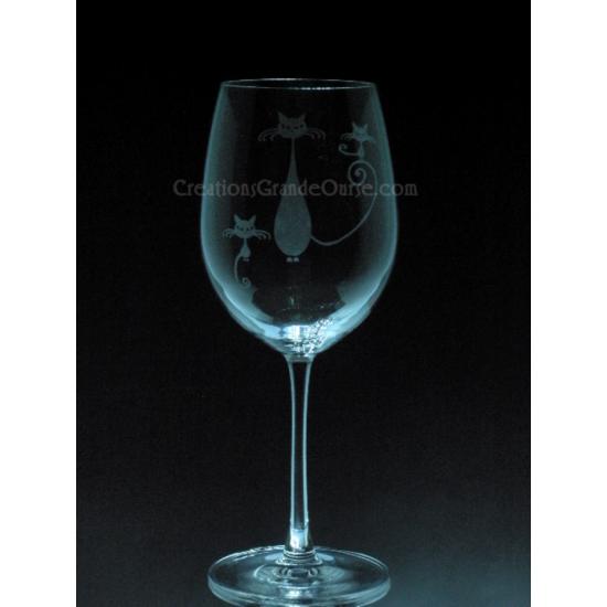 ANI-CK-Chats Famille - 1 verre - prix basé sur...