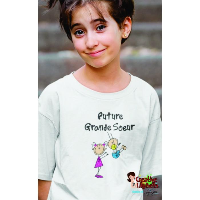 T Shirt Future Grande Soeur Stick 3409