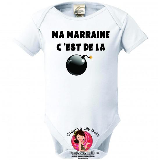 CACHE-COUCHE MARRAINE BOMBE 3129