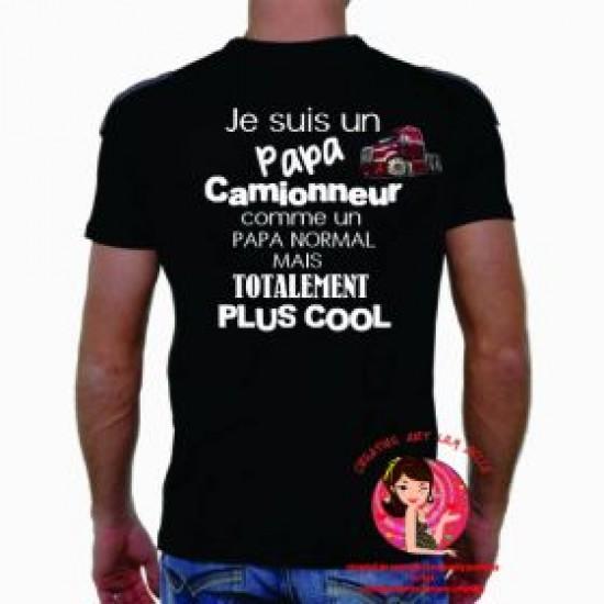 t-shirt camionneur 4078