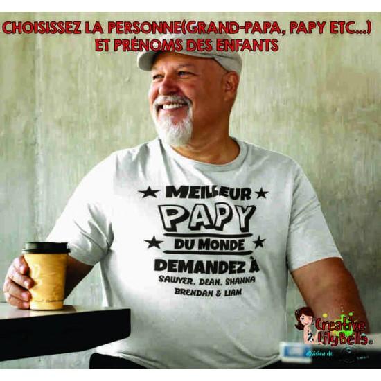 MEILLEUR PAPY PAPA OU GRAND-PAPA 4166