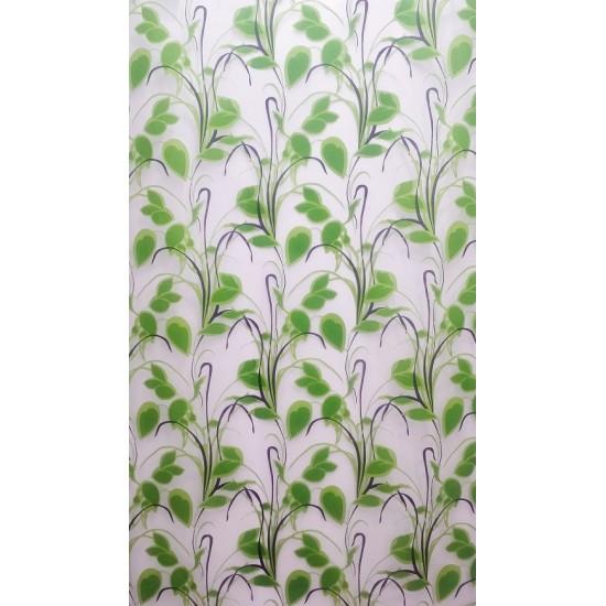 voilage imprim feuilles vertes vegetation decorsfabrics. Black Bedroom Furniture Sets. Home Design Ideas