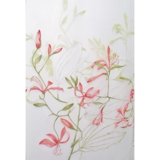 MOON - voilage imprimé - 280 cm - 50% polyester...