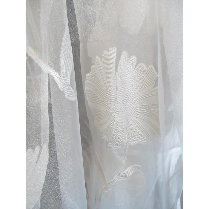 voilage blanc beige d coratif en 300 cm de haut fait de. Black Bedroom Furniture Sets. Home Design Ideas