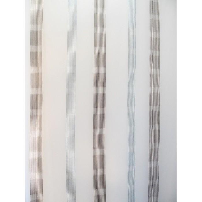 Voilage blanc et bleu d coratif en 300 cm quebec chez - Voilage au metre ...