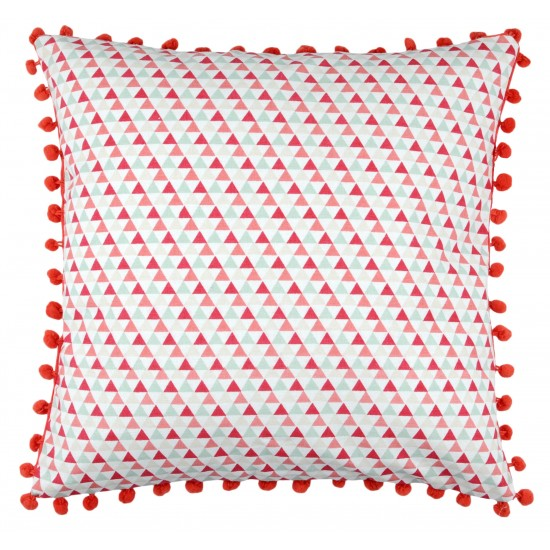 COUSSIN  ponpons - 40 x 40 cm