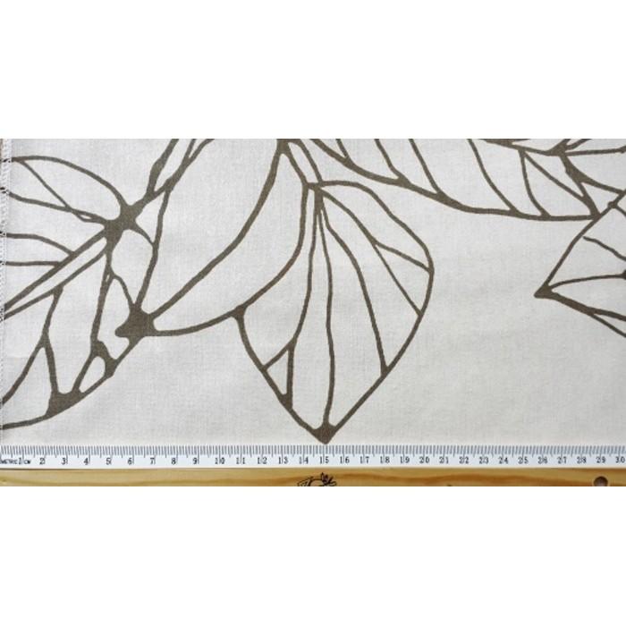 ANNA - tissu blanc imprimé  - 280 cm - 80% coton 20% polyester - vendu au mètre