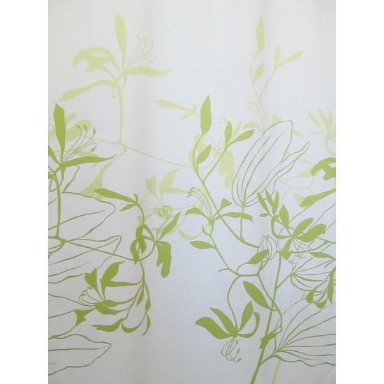 IONA VERT -  tissu imprimé 280 cm - 100% coton -...