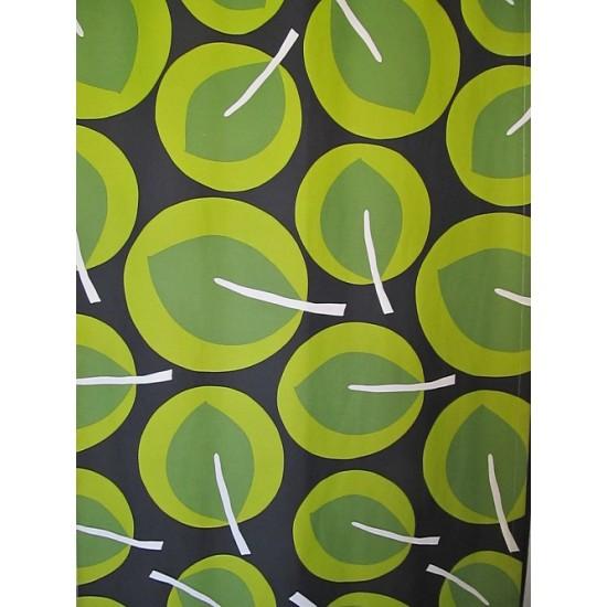 PARC vert - tissu imprimé 280 cm - 70% polyester...